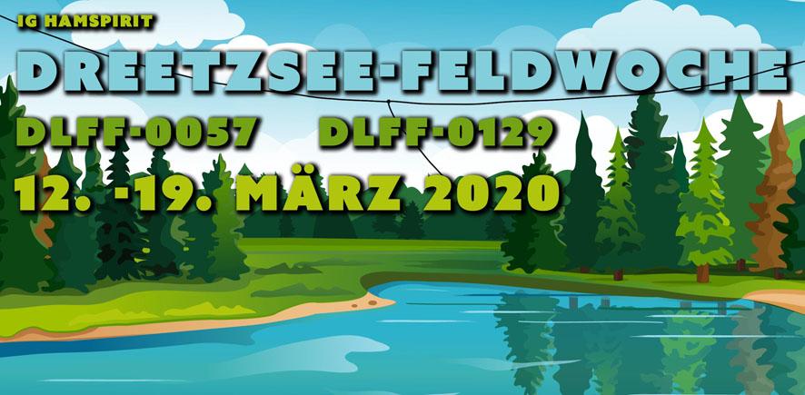Dreetzsee-Feldwoche Logo von Chris DL7AG