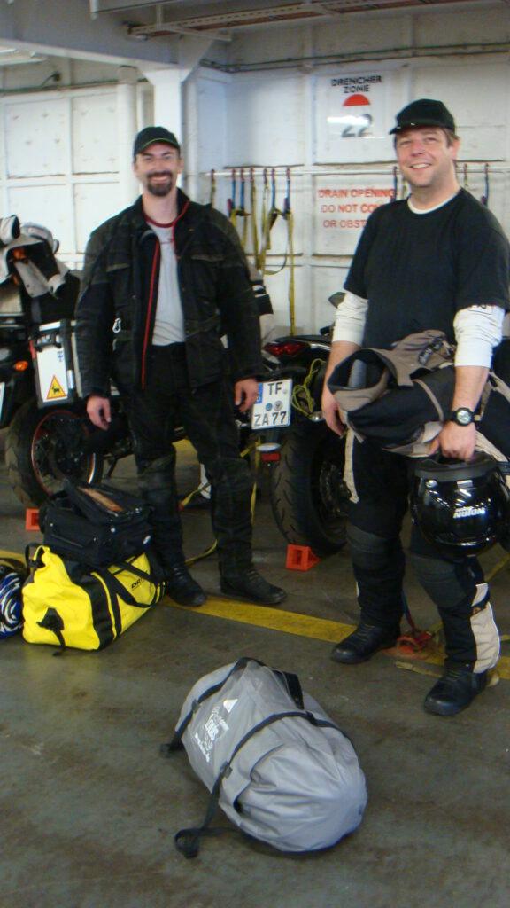 Mit dem Motorrad zum Nordkapp