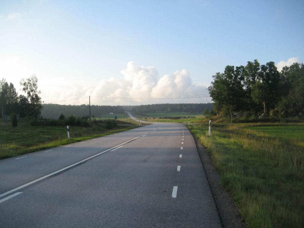 Schweden hat ein sehr gutes Straßennetz