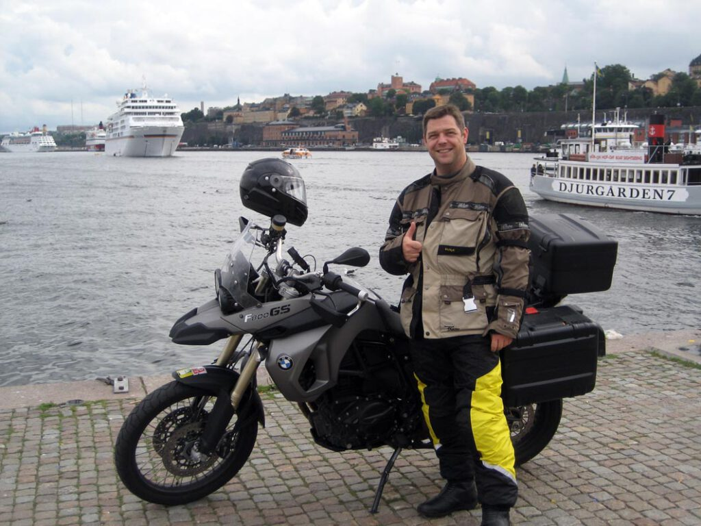 Im Hafen von Stockholm