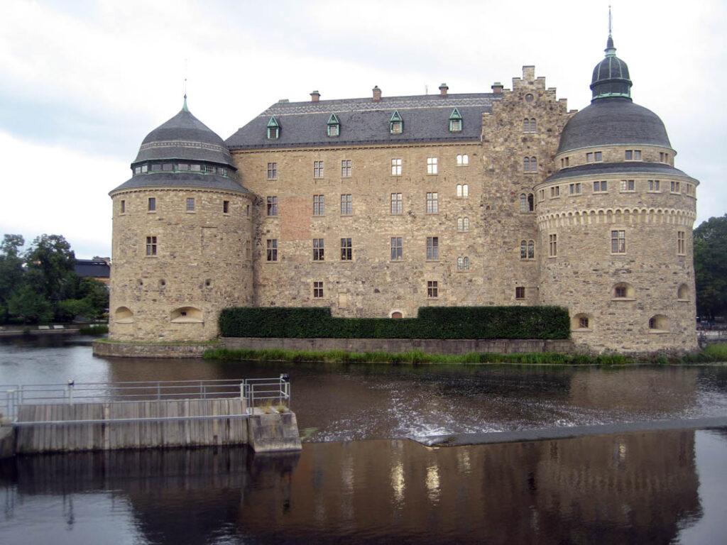 Das Schloß von Örebro