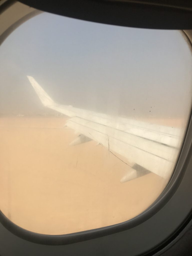Sandsturm im Kairo