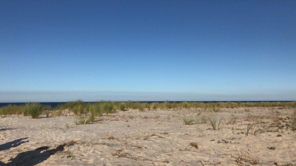 Ein Ausflug und ein Tag am Meer - Strand in Zingst