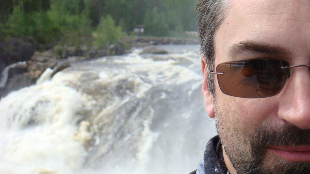 Alf an den white rapids