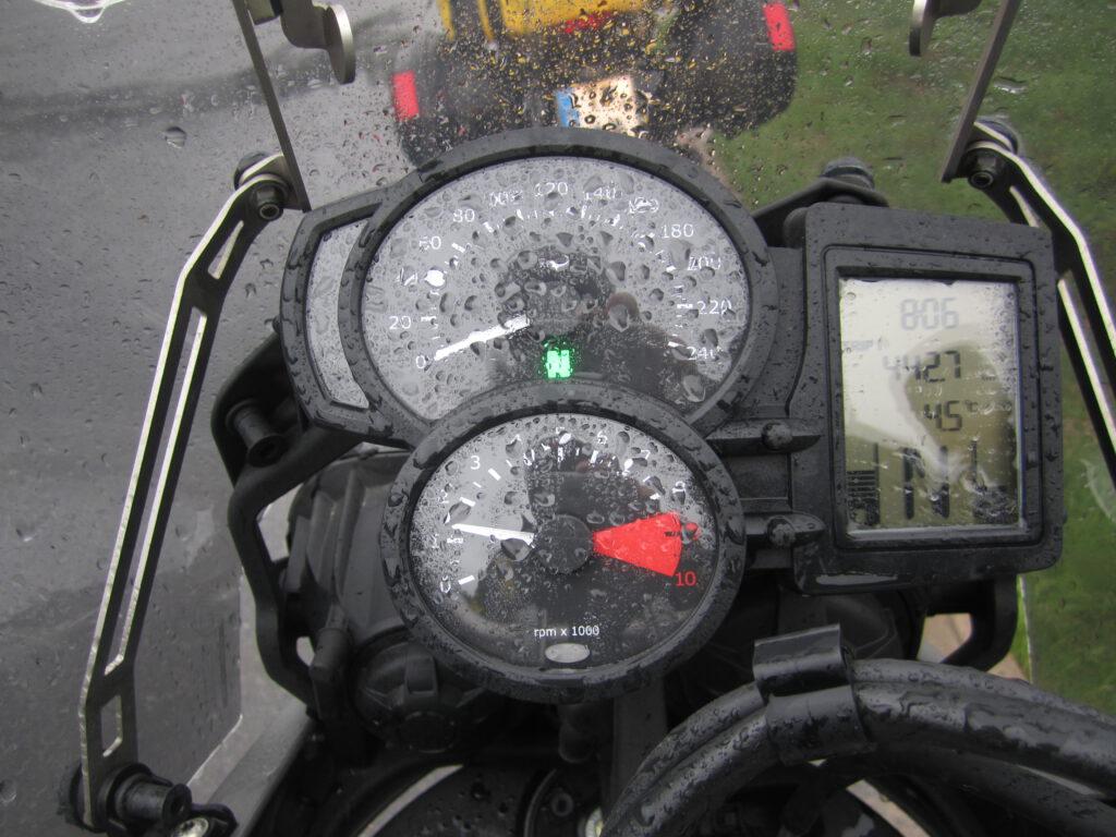 Mit dem Motorrad zum Nordkapp - Kalt und Regen