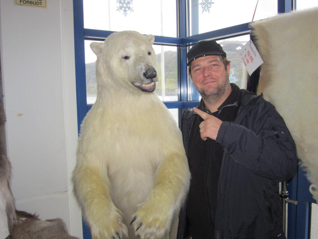 Jens und Eisbär