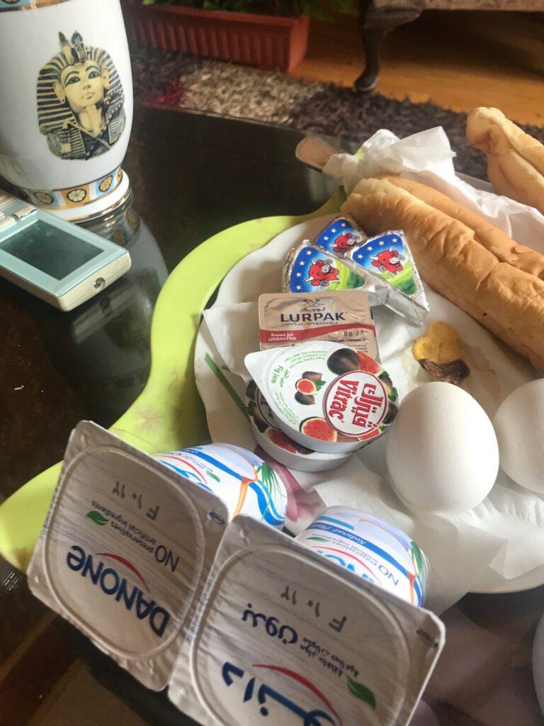 Frühstück im Hotel Cairo-Inn