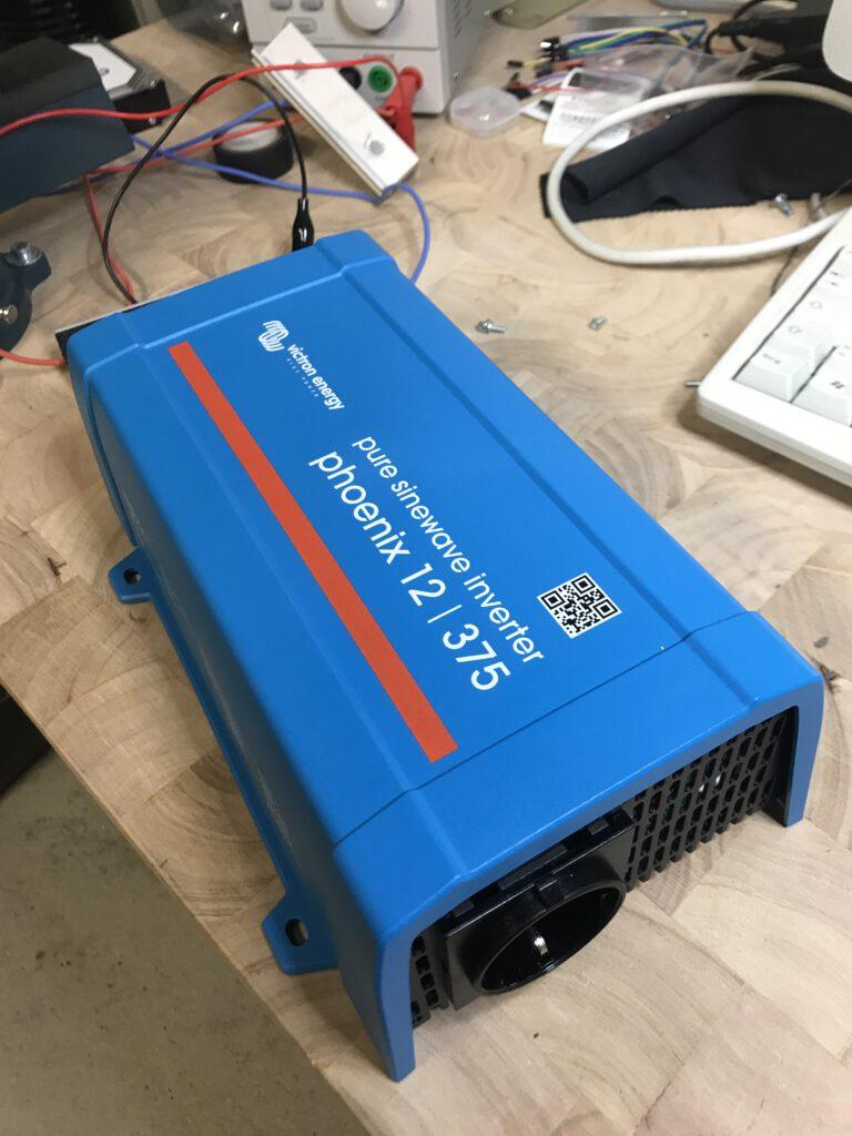 Technische Details zum Victron ernergy/phoenix Inverter 12V375VE